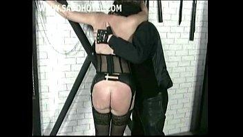 mask master gay slave dog Cute blonde babe gets naked in her living room