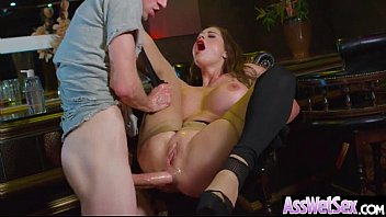 anal double loves oksana Brunette wife is outside sucking on his cock and she takes a load