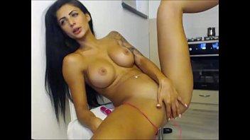 panties girl masturbating through Teen vs bighuge