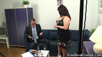 two by german fucked is younger mature dudes Rubber inflate bag sack