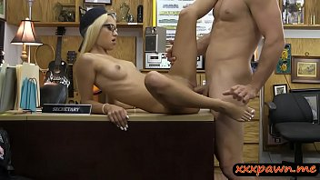 busty amateur the pounded stripper pawnshop at blonde Sleeping wife tricked