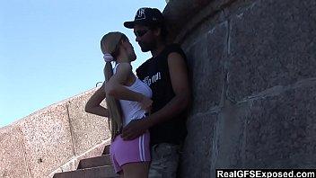 russian creampie blonde Camera escondida filmando a cunhada