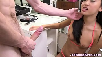 hotel in doggystyle amateur Guy gets fucked by 2 chicks with strapons