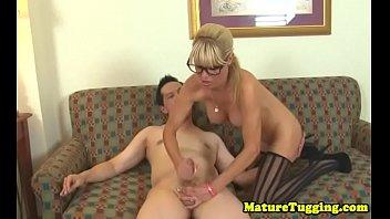 wank satin scarf Bbw guy jacks off while pussy lick