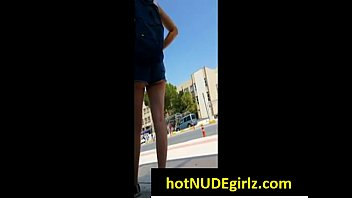 walk campus on college outside and strip girls Casting behind the dcene iklan sabun indonesia