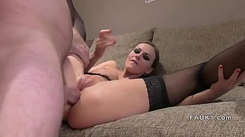 stockings in innocent Aunty feet licking
