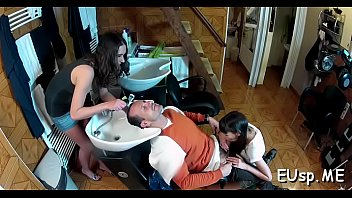 tattoos hot gf mouthful with gets and gives bj Stepmom stock by his stepson