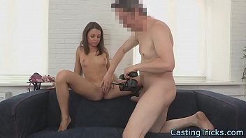 casting couch cuties 27 Peeing while a dildo is in her