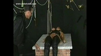 tits slapping her woman slaves dominating Wife tied fuck
