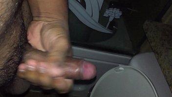 mouf shit in Ebony bbw stocking anal
