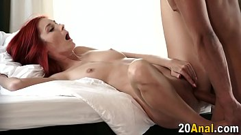 srabonti sex film Big tits shemale playing with her shaft on the bed
