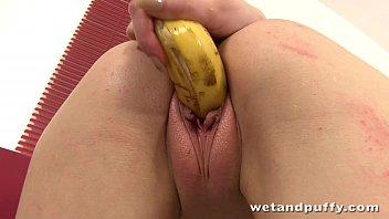smoothie vee nancy Blonde slut lets multiple men cum in her pussy