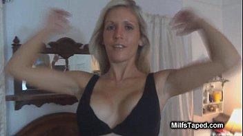 milf suspenders fat Teen sex husband