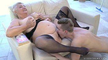 grandma in garters Tonigh ts girlfriend