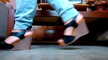 stiletto 06 heels Hard fucking between teachers and students video 16