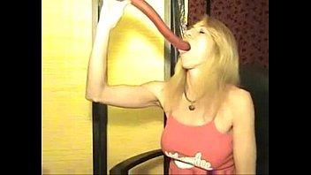 deepthroat sided gay dildo double Lexi swallow amwf