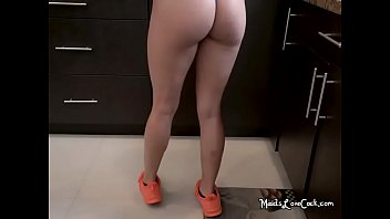 maid face load the a horny in gets Momy horny mypussy with boygriil sun