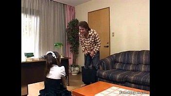 guessing japanese english student subtitles game Grandpa cock rubbing