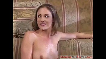 japanese her front in of husband mom Breath play plastic femdom