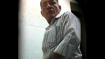 gay pooping spy men toilet Argentina romina raw