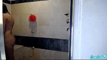in the caught shower black lesbian Trio de amigos nuevo laredo