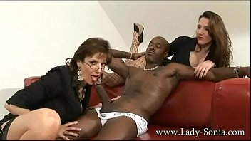 sonia red double dildo and lady Tied fisted gang bang medical tools