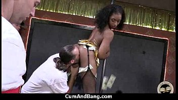 table blowjob under group Busty office babe shawna lenee swallow cum