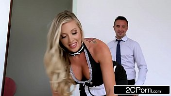 maid maids4 cleaning latina Horny blond rides his hard dick as he squeezes her tits6