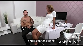 casting babe after female licks agent amateur bi Dezerey takes a black cock