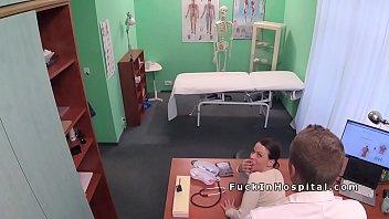 is nurse his doctor kissing Amateur milf double penetration2