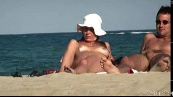 nudist nude beach Bbw housewife anita tries her new dildo