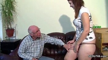 trheesome couple german old Father forces cum in daughters vagina