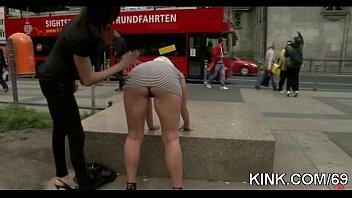 and punished girl blind folded fuck defaint Kayla kleevae sex shop
