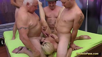 10 by home wife gangbanged guys gets at Mea melone squirt7