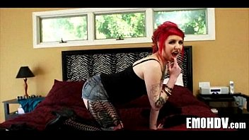 sluts hot emo date Babe acquires a fingering previous to wild fucking