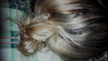 cum on grey sasha hair Defloration in dutch woods