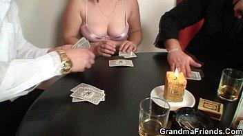 pantyhose strip poker Natasha nice makes a video for her fans