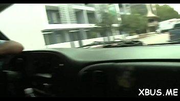 hd cars sex Naive blonde bimbo gets talked into sex
