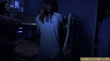 video sd tante vs bocah ml Boob grope nipple