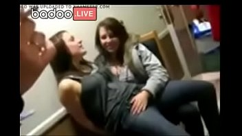 stage college party wet on bra French bisex mmf threesome