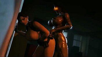 resident moira evil Extreme tit hanging by petseus