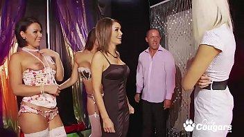 music strip club journey Horny busty black lesbian eats sistersfucked by dildo