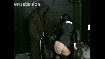 pull pantie prank Lesbian tied up 1