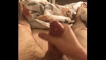jerk cock big mom Jerking till cum out