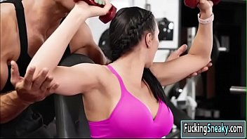 in gym dcima Bustin babes 37