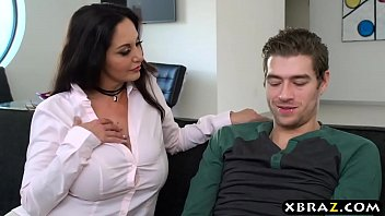 ava busty sex and ann two office moms addams having lisa Turksh wife strapon husband