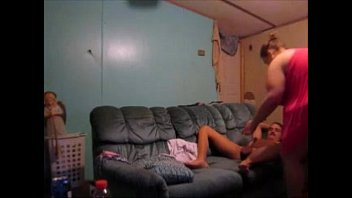 cheats in cuckold wife front husband of Beach topless brazil