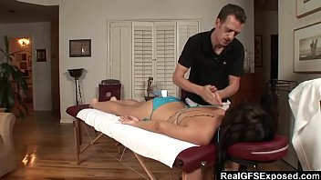 massage oil 12 A new train footsie she likes