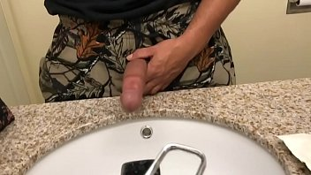 stuck sink son helps in Horny jabnasea massage
