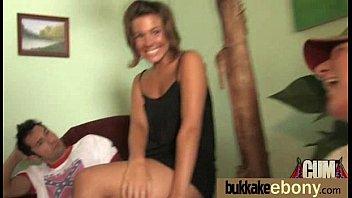 in bukkake teen a orgy Ass streching lick